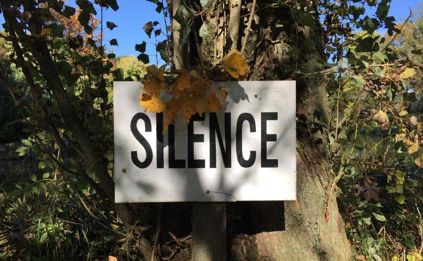 Le silence est une joie